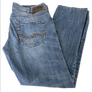 Silver Jeans Allan Classic Fit Light Wash, 36x32